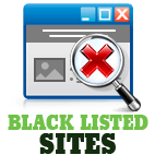 guide to blacklisted sites